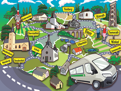 Bild Route Bürgerbus
